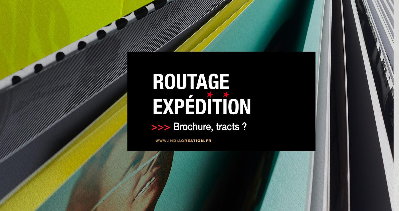 Routage, expéditions