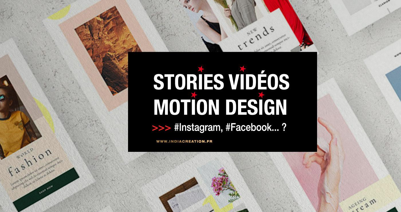 Vidéos stories, Motion design